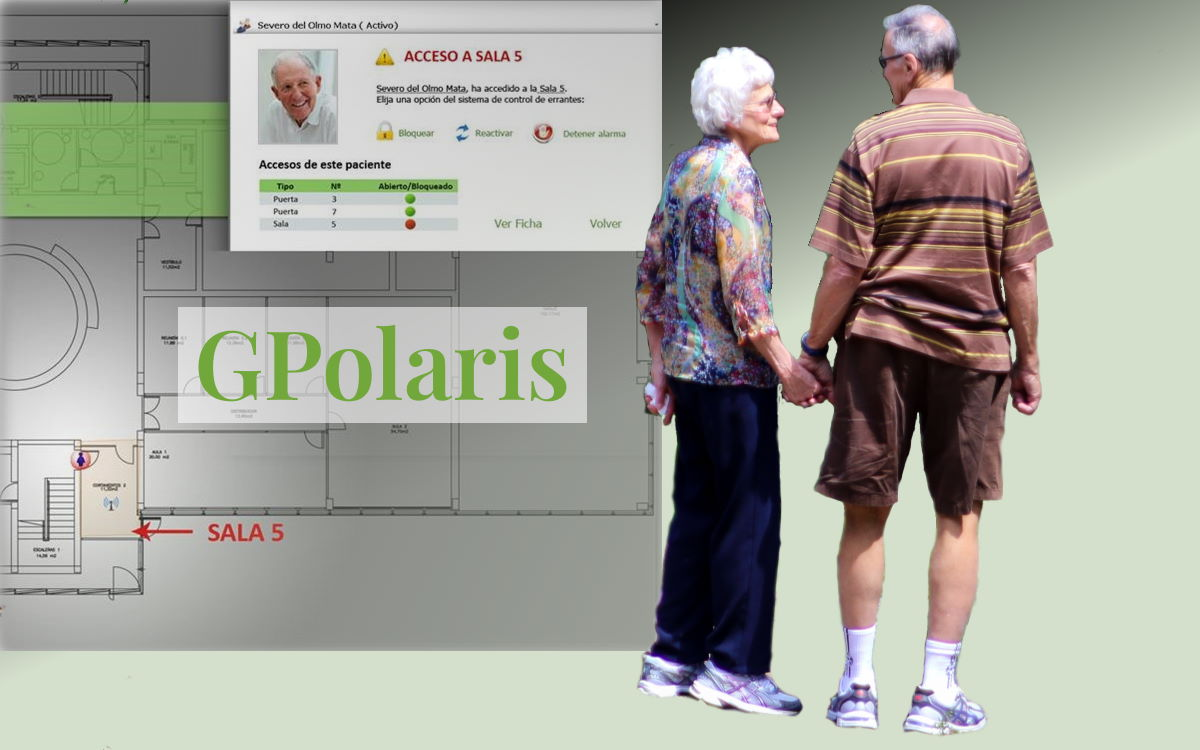 GPolaris. Control de errantes.