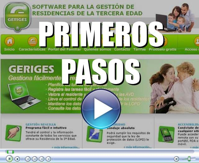 Video Primeros Pasos con Geriges